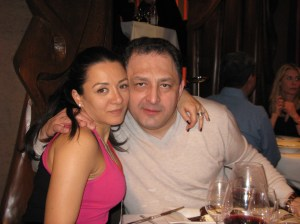 Oana Mizil și Marian Vanghelie