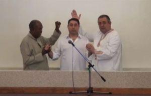 Cristian David, botez